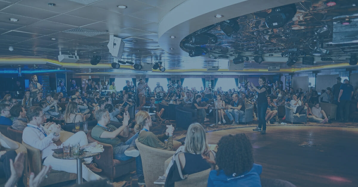 A conference with a difference – Sailing the knowledge seas